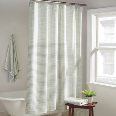 DKNY Yorkville Shower Curtain In Mist