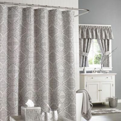 Metallic Silver Shower Curtain Curtain Menzilperde Net