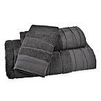 DKNY Wavelength Fingertip Towel in Charcoal