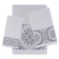 J. Queen New York™ Colette Hand Towel in Silver
