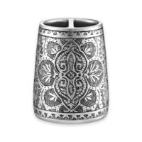 J. Queen New York™ Colette Toothbrush Holder in Silver