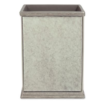 Buy gold bath accessories from bed bath beyond for Gold bathroom wastebasket
