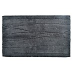 DKNY Wavelength 21-Inch x 34-Inch Bath Rug in Charcoal