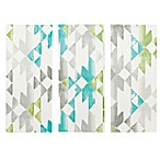 INK+IVY Sierra 3-Piece Canvas Wall Art in Aqua