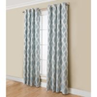 Anaheim 84-Inch Grommet Top Window Curtain Panel in Blue
