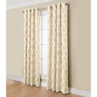 Anaheim 84-Inch Grommet Top Window Curtain Panel in Taupe