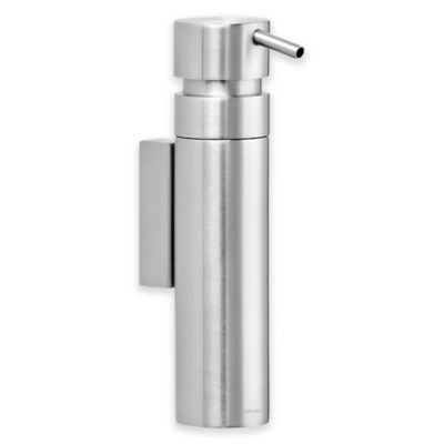 Nexio Wall Mounted Stainless Steel Soap Dispenser In Silver