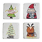 Boston International Christmas Icons Coasters (Set of 4)