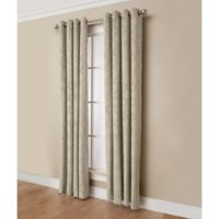 Estate 84-Inch Room-Darkening Grommet Top Window Curtain Panel in Taupe