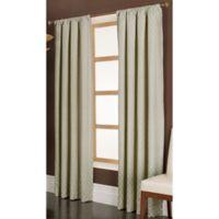 Penwood 84-Inch Rod Pocket Window Curtain Panel in Ivory