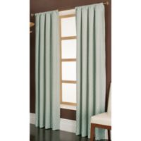 Penwood 84-Inch Rod Pocket Window Curtain Panel in Blue