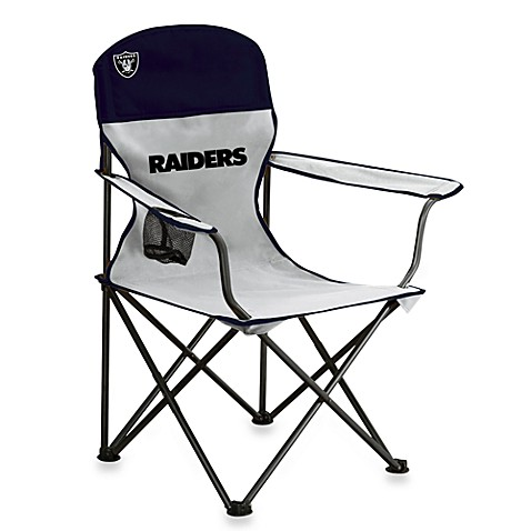 Charming NFL Oakland Raiders Folding Chair