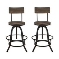 Modway Procure Bar Stools in Brown (Set of 2)