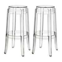 Modway Casper Barstools in Clear (Set of 2)