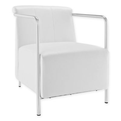 buy white lounge chair from bed bath beyond