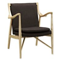 Modway Makeshift Lounge Chair in Brown