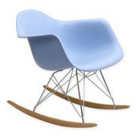 Modway Rocker Lounge Chair in Blue