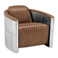 Modway Visibility Lounge Chair in Brown
