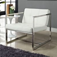 Modway Hover Lounge Chair in White