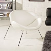 Modway Nutshell Chair in White