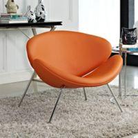 Modway Nutshell Chair in Orange