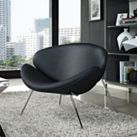 Modway Nutshell Chair in Black