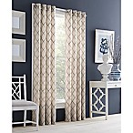 J. Queen New York™ Adorn 84-Inch Grommet Top Embroidered Window Curtain Panel in Grey
