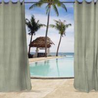 Sunbrella® Cast 84-Inch Grommet Top Indoor/Outdoor Curtain Panel in Oasis Blue