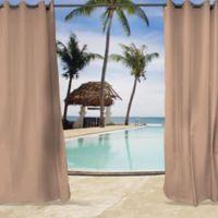 Sunbrella® Cast 96-Inch Grommet Top Indoor/Outdoor Curtain Panel in Petal Pink