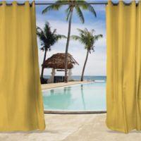 Sunbrella® Spectrum 96-Inch Grommet Top Indoor/Outdoor Curtain Panel in Yellow