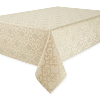 Buy 52 inch x 70 inch oblong tablecloth from bed bath beyond for Table linens 52 x 70