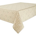 Waterford® Linens Sorelle 70-Inch x 126-Inch Oblong Tablecloth in Ivory