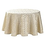 Waterford® Linens Sorelle 70-Inch Round Tablecloth in Ivory