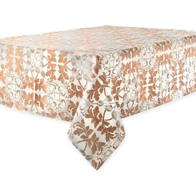Buy 52 inch x 70 inch oblong tablecloth from bed bath beyond for Tablecloth 52 x 120