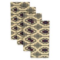 Design Imports India Southwest Geometric-Print Napkins (Set of 4)