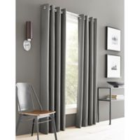 J. Queen New York™ Adorn 63-Inch Grommet Top Window Curtain Panel in Grey