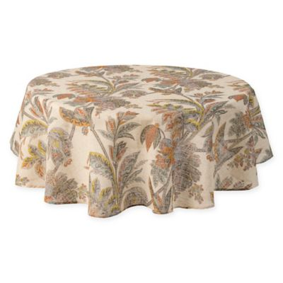 Echo Ishana 70 Inch Round Tablecloth