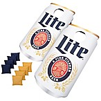 Miller Light Can Cornhole Bean Bag Toss Game
