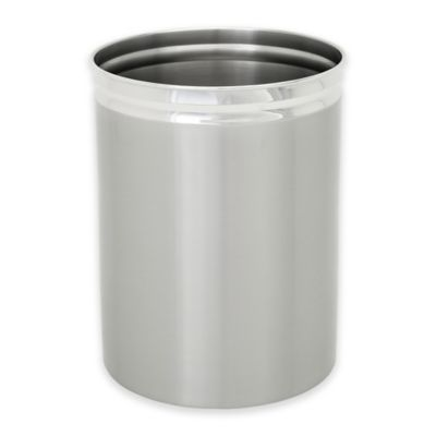 Exceptionnel Wamsutta® Kiara Wastebasket In Brushed Nickel