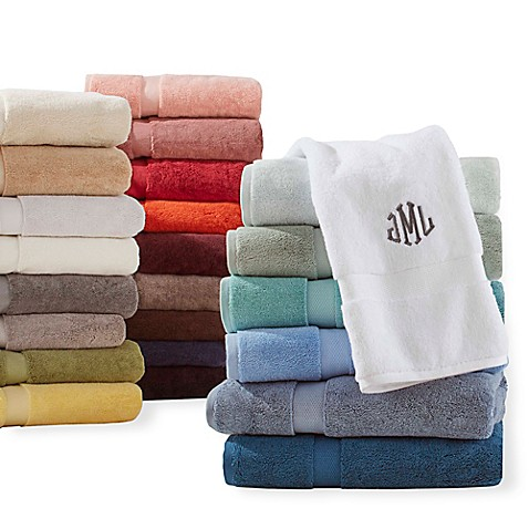 image of Wamsutta® Personalized 805 Turkish Cotton Towel Collection