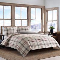 Eddie Bauer® Portage Bay King Duvet Set in Beige