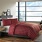 Eddie Bauer® Mountain Plaid King Comforter Set in Red