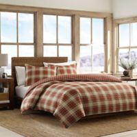 Eddie Bauer® Edgewood Plaid King Comforter Set in Red