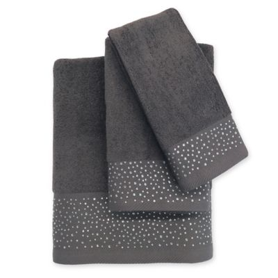Buy Decorative Grey Towels From Bed Bath Amp Beyond