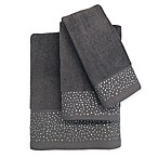 Twilight Fingertip Towel in Grey