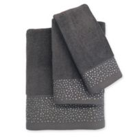 Twilight Cotton Hand Towel in Grey