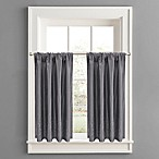 Twilight Window Curtain Tier Pair in Grey