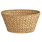 Brookside Natural Water Hyacinth Oval Utility Basket