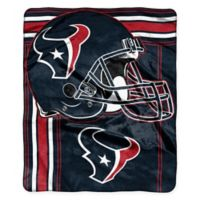 NFL Houston Texans Royal Plush Raschel Throw