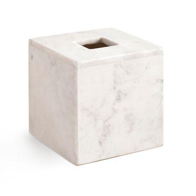 Kassatex Pietra Tissue Holder in White. Buy Bath Tissue Holder from Bed Bath   Beyond